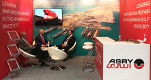 ASRY Exhibits at Europe's Largest Shipping Exhibition