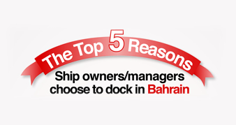 The Top Five Reasons to Dock in Bahrain, revealed by ASRY Survey Results