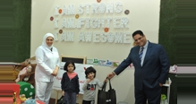 ASRY organizes a visit to the children's ward at the Oncology Centre in Salmaniya Medical Complex in line with the World's Cancer Day